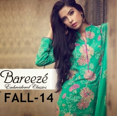 Bareeze Winter Collection 2014 With Prices Bareeze Fall-winter 2014-2015