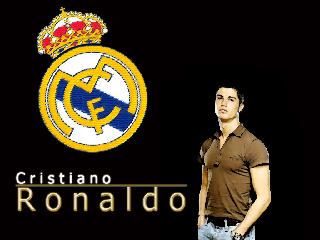 Download cristiano ronaldo real madrid wallpapers logo and wallpapers - Christiano ronaldo logo ...