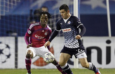 Dinamo Zagreb 1 - 7 Olympique Lyon (1)