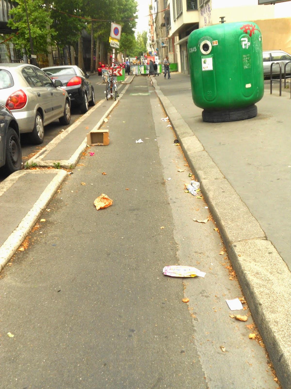 PARIS CAPITALE DES DECHETS