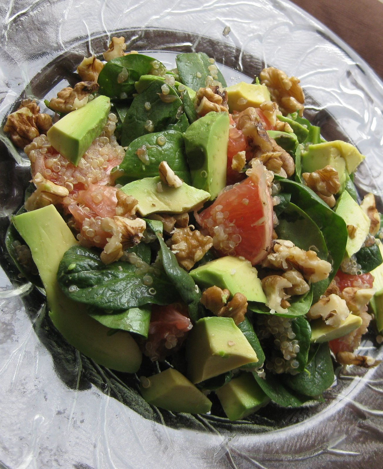 Spinach And Quinoa Salad With Grapefruit And Avocado Recipes ...