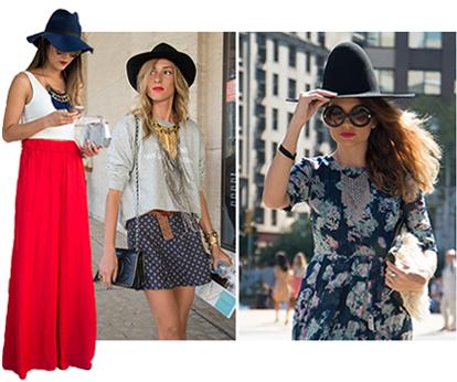 Street Style - Chapéus