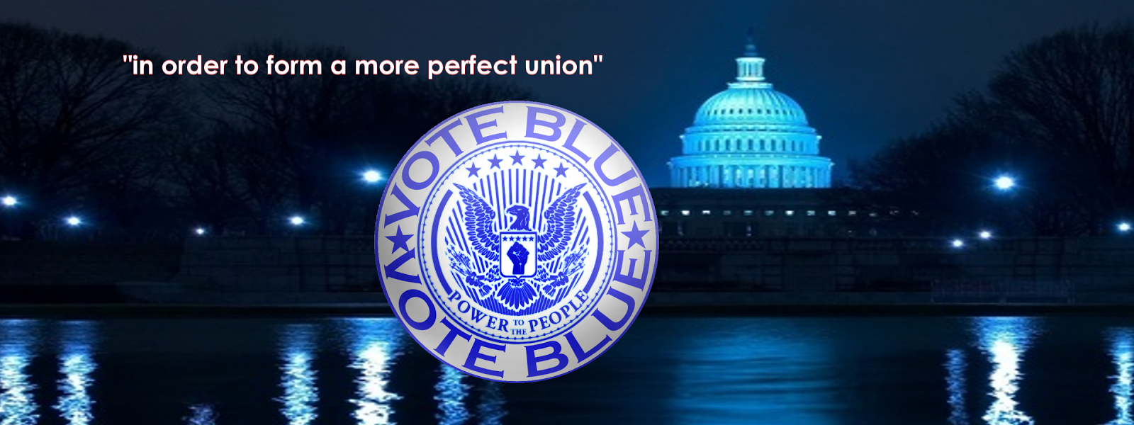 """In order to form a more perfect union"""