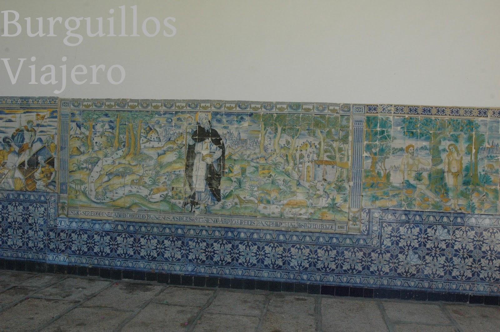 Azulejos Para Baños En Talavera Dela Reina:TALAVERA DE LA REINA, Toledo Paneles de azulejos de la basílica de