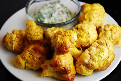 Photo of Indian Spiced Roasted Cauliflower from Laa Loosh