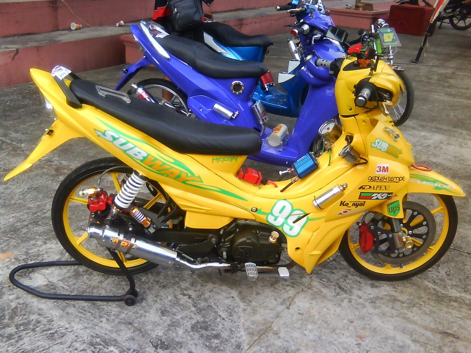 foto modifikasi jupiter z 2007