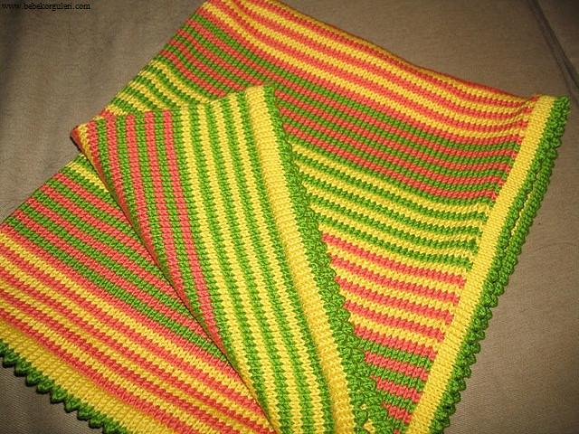en güzel bebek battaniye modelleri - 6