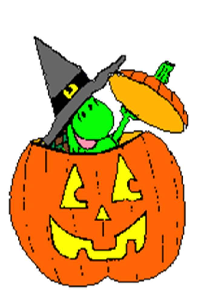 Calabaza De Halloween Animada Gran Diseado Dibujos Animados - Calabazas-animadas