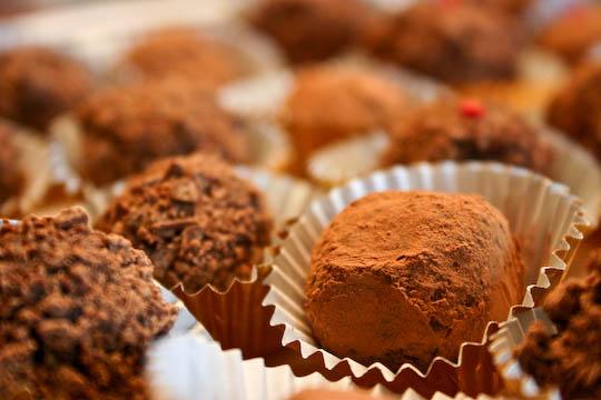 Bakergirl: Chocolate Ganache Truffles.