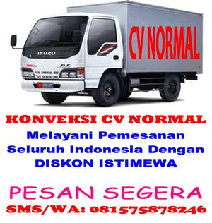 CV NORMAL MELAYANI PEMESANAN KE SELURUH INDONESIA