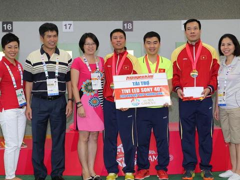 Bảng xếp hạng SEA Games 2015