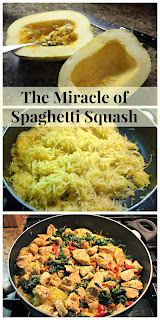 The Miracle of Spaghetti Squash from Jenn's Random Scraps