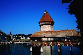 Kapellbrücke, Lucerna