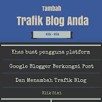 Cara menambah trafik ke blog banner.
