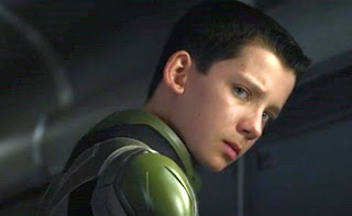 Asa Butterfield as Ender Wiggin