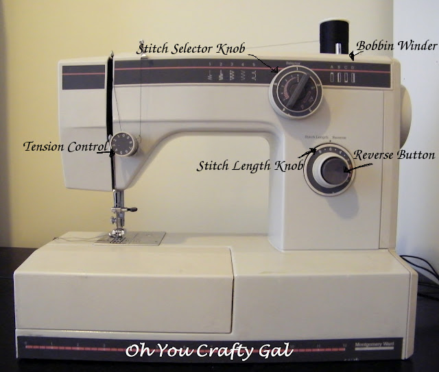Learning About Your Sewing Machine Oh You Crafty Gal Impressive Reverse Button On Sewing Machine