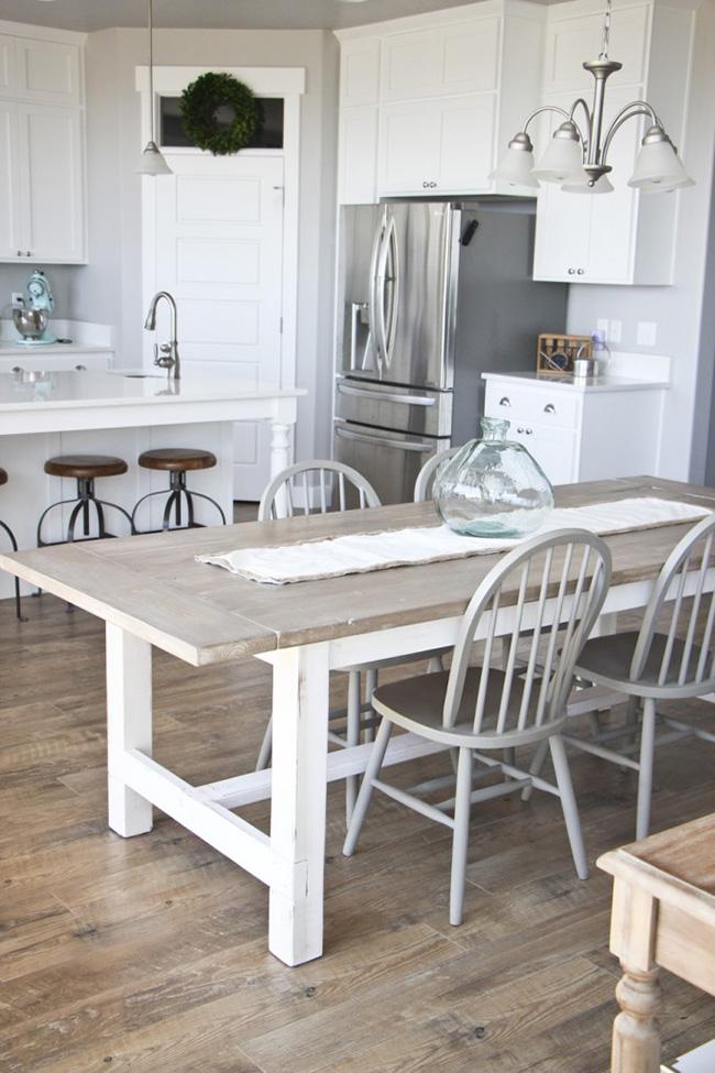 Tips deco gu a para comprar la mesa de comedor tr s for Mesas de comedor madera blanca