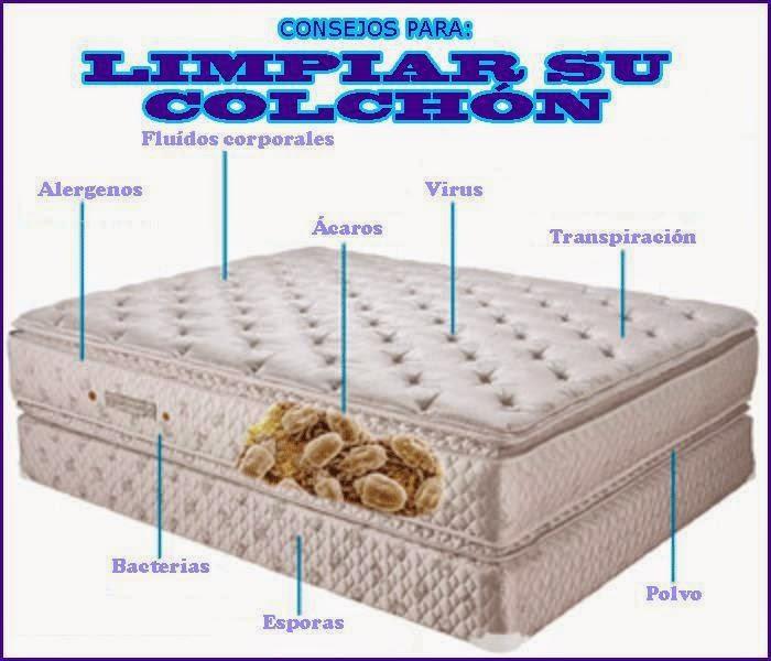 Descanso y salud higiene de los colchones - Eliminar acaros colchon ...