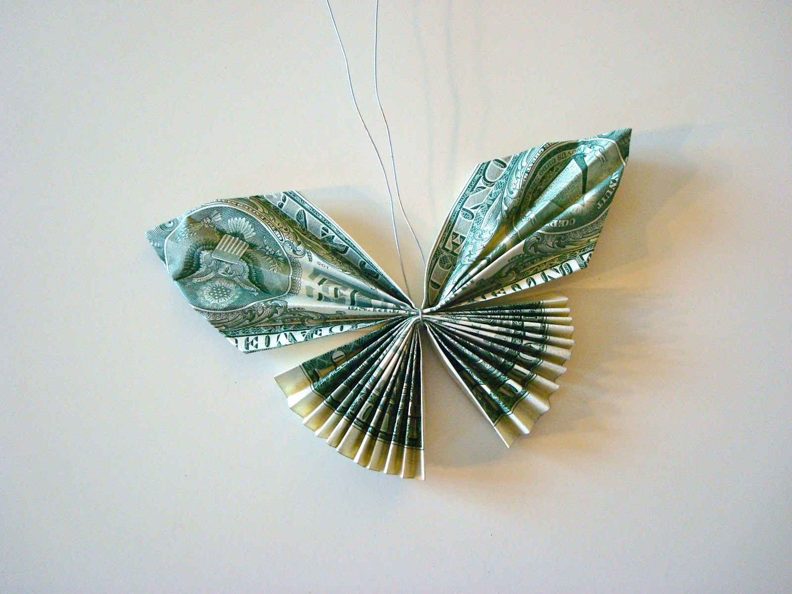 Once upon a pink moon tutorial how to make a candy lei with once upon a pink moon tutorial how to make a candy lei with dollar bill butterflies mightylinksfo