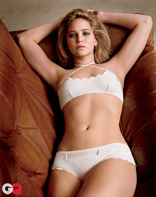 Jennifer Lawrence Hot Lingerie