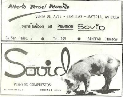 Publicidad Solvid y Alberto Teruel Binefar