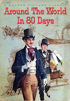 cover of 'Around the World in 80 Days' by Jules Verne