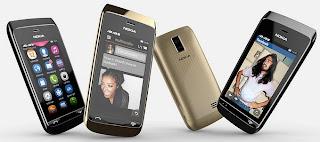 Gambar Nokia Asha 308 Full Touch Dual SIM Murah