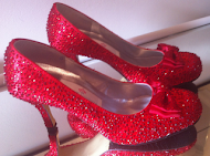 Wholesale Red Crystal Shoes
