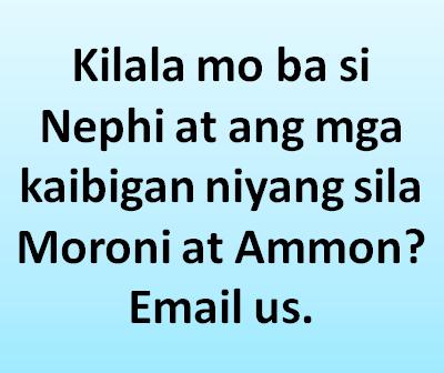 Nephi at Moroni Friend mo?