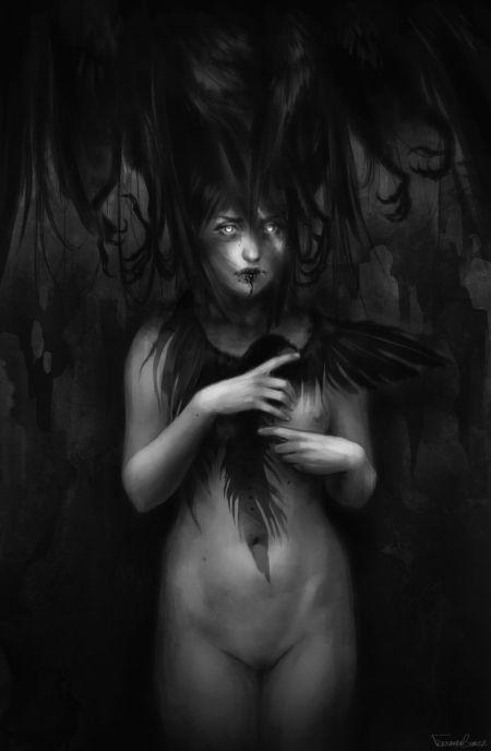 fernada suarez ilustrações deviantart mulheres seminuas sensuais fantasia