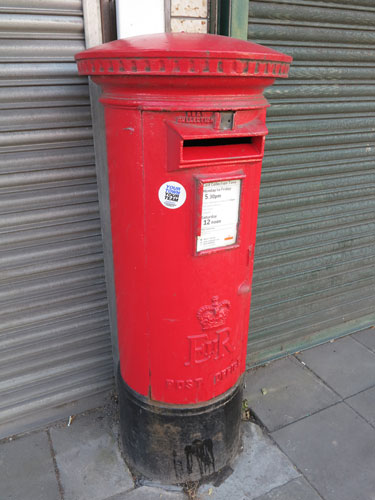 British Post Boxes