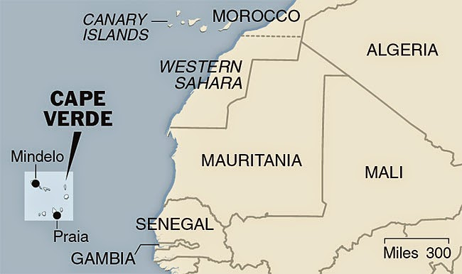 Where is Cape Verde?