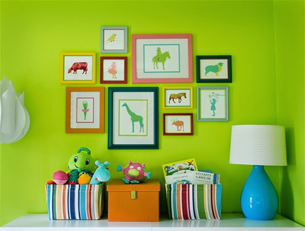 Living Room Color Schemes, Color Combinations, Green And Blue