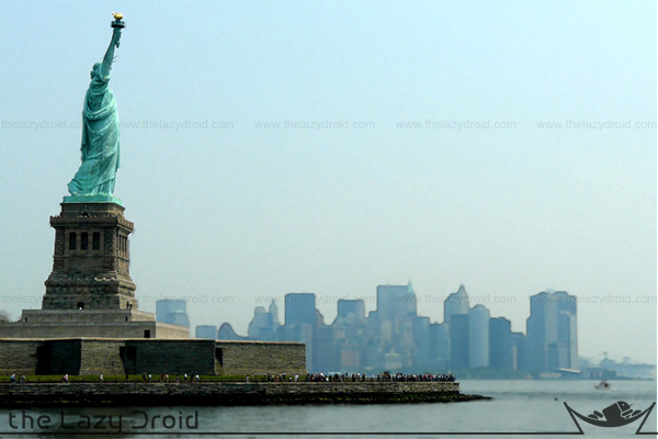 estatua libertad manhattan