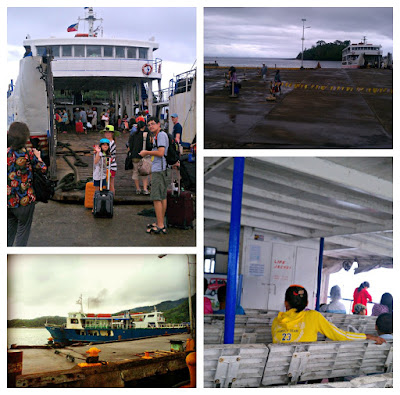 Ferryboat to Camiguin Island, Philippines