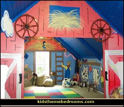 barnyard bedroom decorating ideas - farmyard themed bedroom