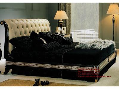 Mebel ukiran jepara mebel ukir jepara mebel jati jepara tempat tidur ukiran jati jepara jual mebel jepara classic antique french duco Jati code Dipan jati103