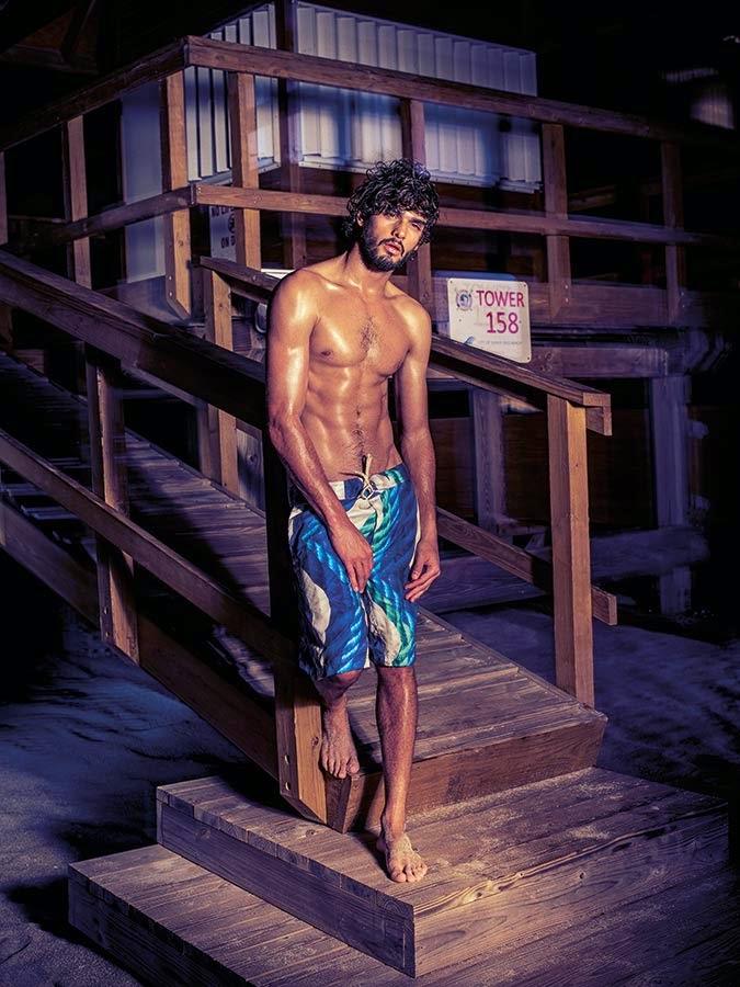 Marlon Teixeira estrela campanha de verão da Água de Coco. Foto: Eduardo Rezende