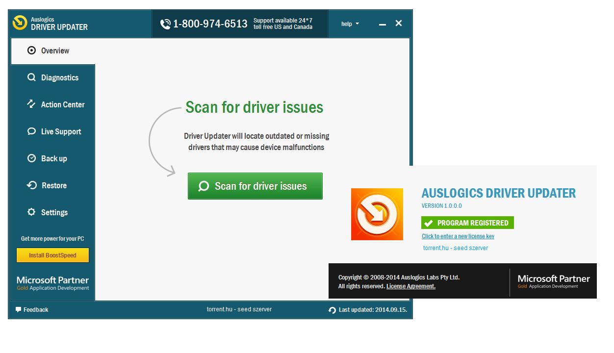 Auslogics driver updater 1 5 0 0 ключ русская версия.