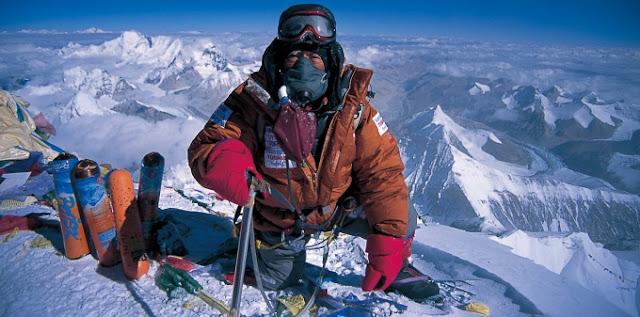 японец альпинист, самый старый на Эвересте