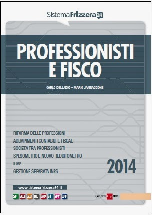 Professionisti e fisco 2014