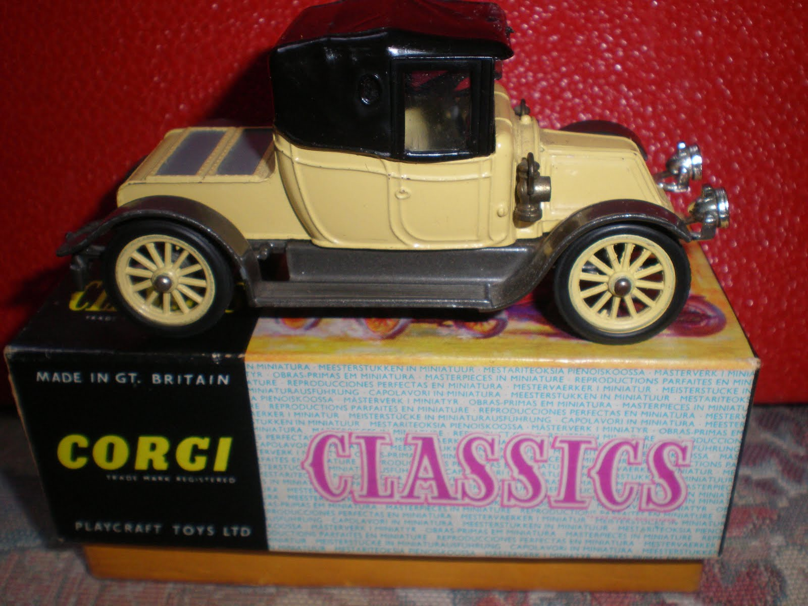 Corgi Classic Car