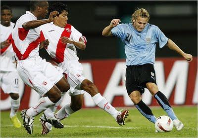 Uruguay vs peru en vivo