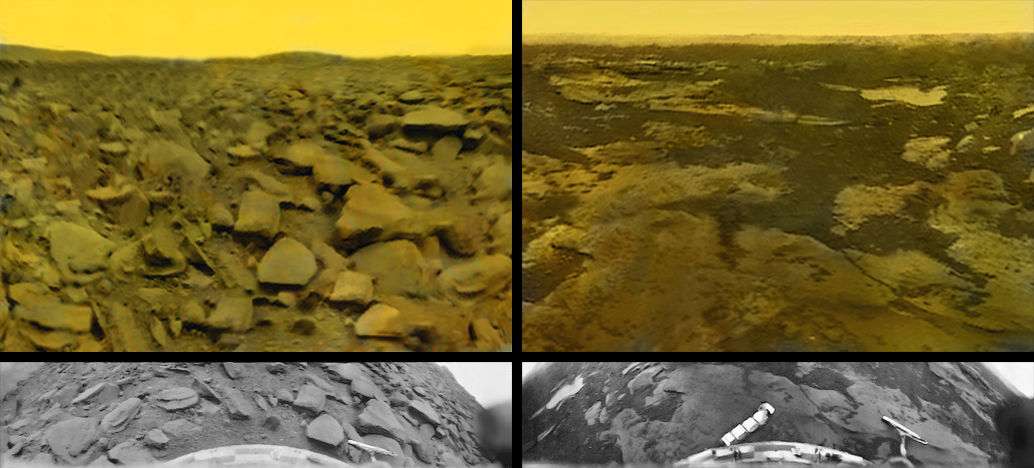 Planetary Images From Then and Now: Standing on Venus in 1975