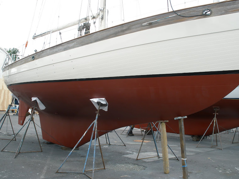 Hans Christian 43,  New bottom and topside paint.