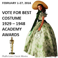 2016 Costume Awards Winners