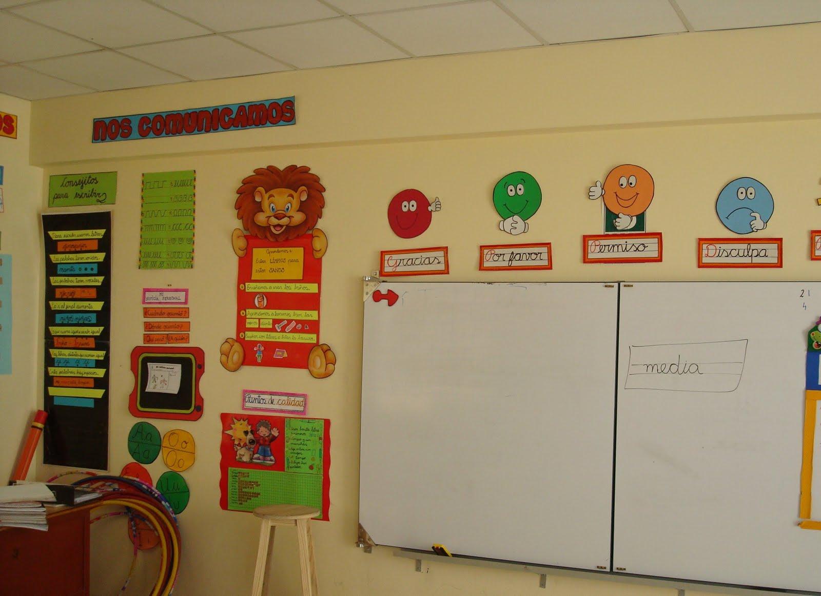 Ambientaci n de aula de preescolar for Actividades de salon