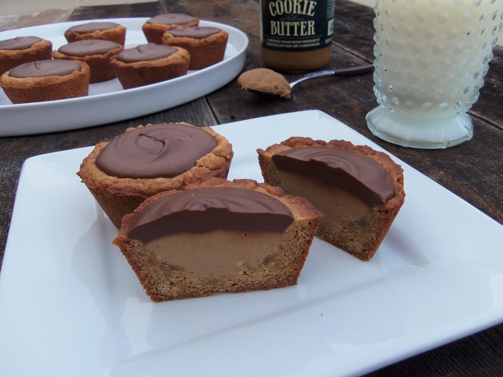 3squeezes: Biscoff Peanut Butter Cups