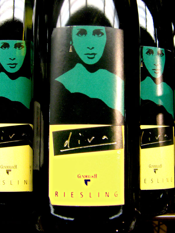 Drinks with musical names - Diva Riesling