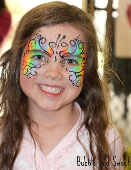 Sophie Had Seen a Face Painter